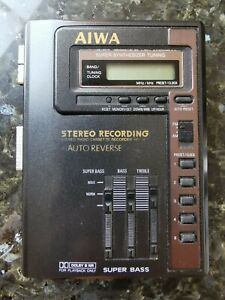 Aiwa HS-J470 Stereo Recording Radio & Cassette Player with AutoRev & Graphic EQ