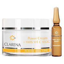 Clarena Power Pure Vit C Cream 50ml + 1.5ml of 100% Vitamin C