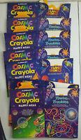 1987 McDonalds Happy Meal Box Lot of 7 Cosmic Crayola Planet Roundup New NOS