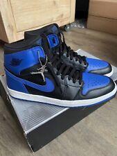 Nike Air Jordan 1 Retro Black/Royal Blue 2001 US11.5 UK10.5 EU45.5 CM29.5 DS