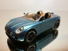 PREMIUM X MINI SUPERLEGGERA CONCEPT 2014 - BLUE METALLIC 1:43 - EXCELLENT -21/39