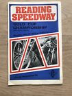 Reading - Gold Cup Championship Speedway Programme 31/07/72