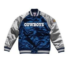 Authentic Dallas Cowboys Mitchell & Ness NFL Tough Seasons Satin Jacket