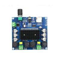 Bluetooth 5.0 TDA7498 Digital Amplifier Board 2x100W Stereo Audio Module  TF AUX