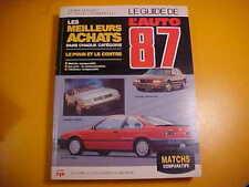 GUIDE AUTO JACQUES DUVAL 1987