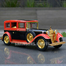 DIECAST 1:32 ALLOY MODEL TOYS SOUND LIGHT PULL BACK VINTAGE CLASSIC ROLLS ROYCE