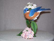 Danbury Mint Birds Bluebird Summers' Song