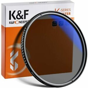 K&F Concept Circular Polarizer CPL Lens Filter 49/55/58/62/67/72/77/82mm Slim