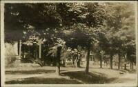 Interlaken NY West West Ave Homes c1910 Real Photo Postcard