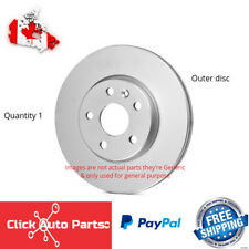 Disc Brake Rotor-QR Disc Brake Rotor Front   fits 04-05 Acura TL