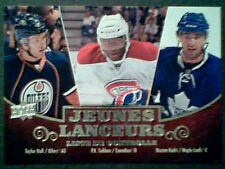 TAYLOR HALL / P.K. SUBBAN / NAZEM KADRI 10/11 UDS1 FRENCH YOUNG GUNS CARD  SP