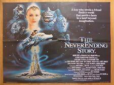 THE NEVER ENDING STORY (1984) - original UK quad film/movie poster, children's