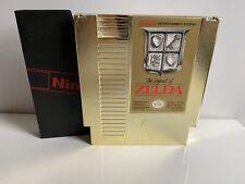 NINTENDO NES THE LEGEND OF ZELDA GOLD CARTRIDGE PAL NES-ZL-FRA