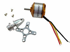 Motor Brushless para RC Aeroplano Avion Helicoptero A2212 KV1000 Outrunner 2735