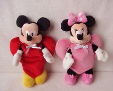 Mickey & Minnie Beanies w/ Handmade HeartSuits + Original Clothes