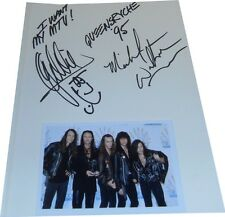 Queensryche SIGNED AUTOGRAPHS MTVs Most Wanted AFTAL UACC RD