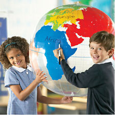 Learning Resources Giant Inflatable Hanging Labelling Globe - Geography Teaching