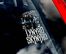 Lynyrd Skynyrd - Car Window Sticker - American Rock Band Sign Art Gift