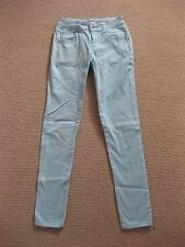 Womens Blue/Green Supre Jeans Size 3XS/Size 4