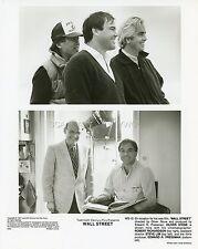 DIRECTOR OLIVER STONE WALL STREET 1987 VINTAGE PHOTO ORIGINAL #10