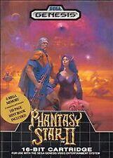 Phantasy Star II 2 - Sega Genesis GAME