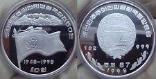 KOREA 10 Won 1998 Silver Proof National 50th Anniversary