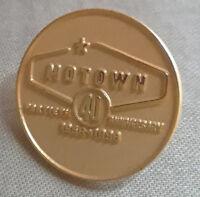 Motown 40th anniversary pin broche