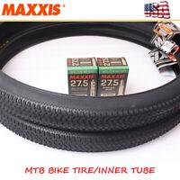 """26/27.5/29"""" MAXXIS M333 MTB Bike Tire Not Folded 60TPI Inner Tube Rubber 1PC"""