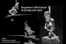 CGS French Imperial Old Guard Waterloo 1815 1/9th Bust Unpainted kit CARL REID
