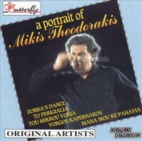 A Portrait of Mikis Theodorakis by Original Artists - EUC Compilation Music CD