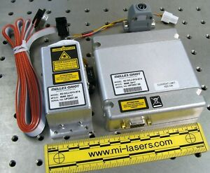 NEW MELLES GRIOT 85-GCJ-015-074 COMPACT OEM DPSS LASER SYSTEM 15mW 532nm green