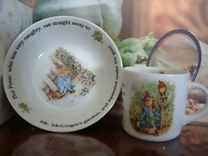 Wedgwood - Peter Rabbit Classic Mealtime Set 2pce / New in Gift Box