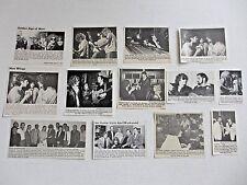 IAN HUNTER Mott The Hoople MICK RONSON original magazine clippings LOT of 13