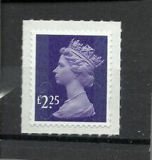 Great Britain Machin  £2.25 OFNP SA 2B De La Rue CODE M15L DG 2250.1.1 MNH
