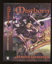 Sanderson, Brandon: Mistborn ** Signed ** Hugo** HB/DJ 1st/1st