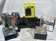 Original Sony PS2 Playstation 2 SCPH-39001 Console + Accessories + 32 Games