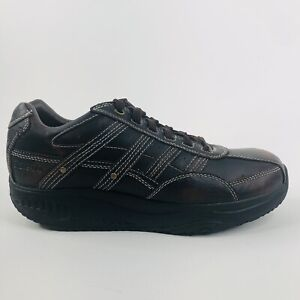Skechers Shape Ups Sneakers Brown 66500 Leather Toning Shoes Men's 10.5 Shoes