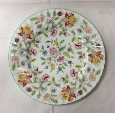 """MINTON """"HADDON HALL"""" DINNER PLATE 10 3/4"""" FLORAL BONE CHINA MADE IN ENGLAND NEW"""