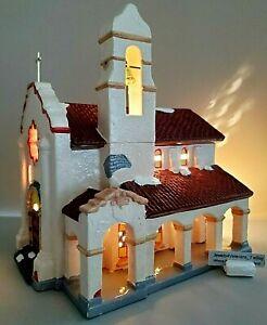 Department 56 Snow Village Spanish Mission Church #5155-1 Retired💖