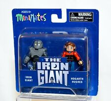 Diamond Select The Iron Giant & Hogarth Hughes Minimates 2-Pack New!