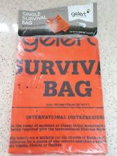 Gelert Single Survival Bag - ideal for hiking/scouting/expeditions UNUSED