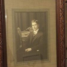 Framed Sepia Collectable Antique Photographs (Pre-1940)