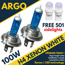 H4 472 Rally Off Road Xenon White Headlight Head Light Bulbs 501 Led Sidelights