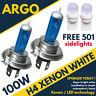 H4 Xenon White 100w Fog Spot Light Lamp Bulbs Vw Lt 28-46 Ii Box (2dx0ae)