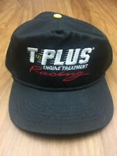 T-Plus Engine Treatment Racing Embroidered Hat One Size Fits All Snapback