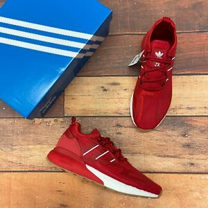 Adidas Men's ZX 2K Boost Red Running Shoes GY5806