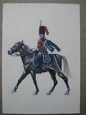 Hussard à cheval premier empire