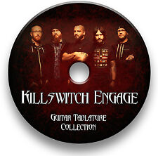 Killswitch Engage Metal Rock Guitar Tab Tablature Song Book scolarité Logiciel CD