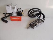 SPX POWER TEAM PE550 ELECTRIC HYDRAULIC PUMP W/ POST TENSION STRESSING JACK