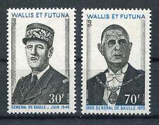 Wallis und Futuna 234/35 postfrisch / Charles de Gaulle ..................1/3651